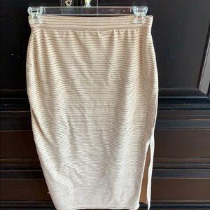 Life is Good cotton skirt